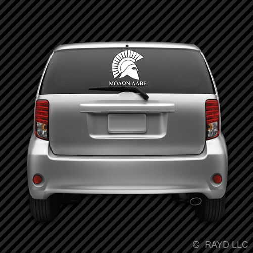 Molon Labe Windshield Sticker Die Cut Decal Self Adhesive Vinyl 2A Large #7