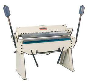 Baileigh-BB-4814-Box-and-Pan-Brake-48-x-14-Gauge-Sheet-Metal-Bending-Machine