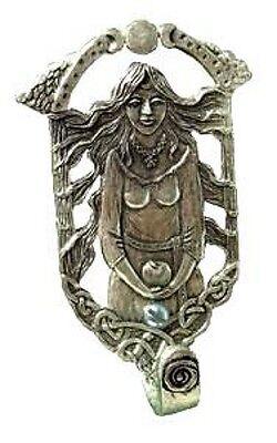 Goddess Wall Hook - Pewter