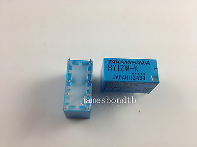 10PCS RY12W-K TAKAMISAWA 12V DPDT Miniature Relay