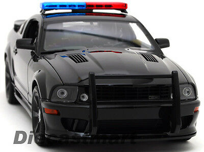 WELLY 1:18 2007 SALEEN MUSTANG S281E POLICE VERSION BLK
