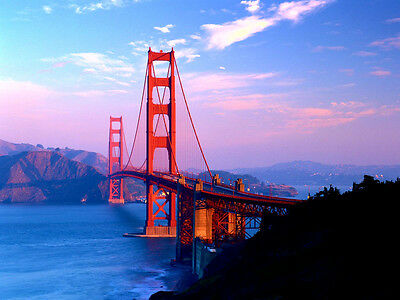 Golden Gate Bridge - CANVAS OR PRINT WALL ART