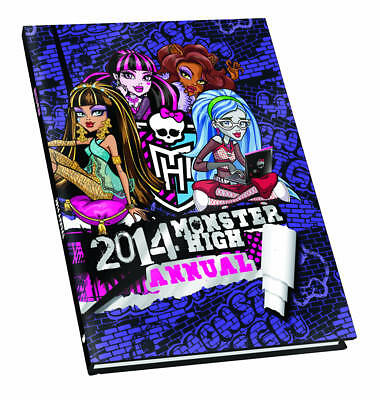"""AS NEW"" , Monster High Annual 2014 (Annuals 2014), Hardcover Book"