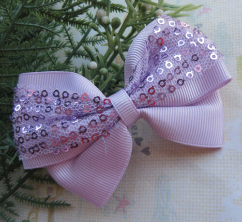 5Pcs Cute Ribbon Flowers BowKnot Crafts For Wedding Appliques JCA066