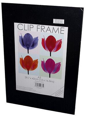 A1 - A2 - A3 - A4 - Photo, Art, Poster & Memorabilia Clip Frame