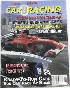 Model Car Racing Magazine 9 Used Scalextric Fly Scx