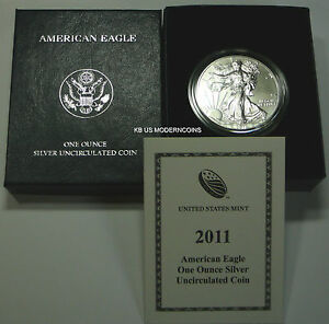 2011-W-AMERICAN-SILVER-EAGLE-BURNISHED-COIN