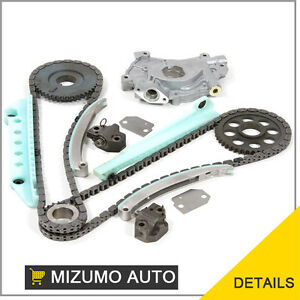 Fit-97-04-Ford-E150-F150-Expedition-4-6-WINDSOR-SOHC-Timing-Chain-Kit-Oil-Pump