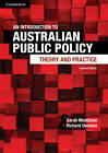 An Introduction to Australian Public Policy: Theory and Practice by Sarah Maddison, Richard Denniss (Paperback, 2013)