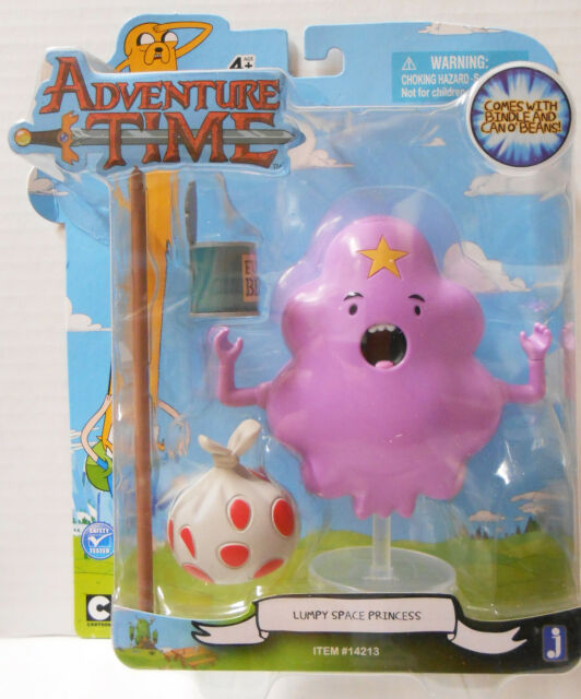 "Adventure Time 5"" Action Figure Lumpy Space Princess with Accessories, New!"