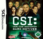 CSI: Crime Scene Investigation 2 - Dark Motives (Nintendo DS, 2007)