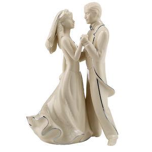 LENOX WEDDING PROMISES FIRST DANCE CAKE TOPPER BNIB LOVE BARGAIN FREE SHIPPING