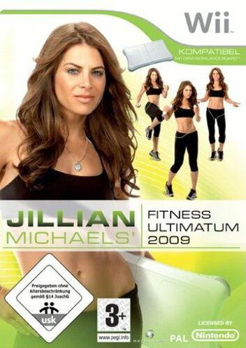 Jillian Michaels Fitness Ultimatum 2009 (Nintendo Wii, 2009, DVD-Box)