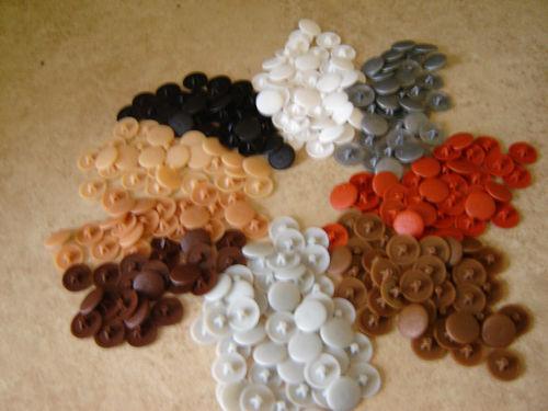 20 SCREW COVER CAPS POZI HEAD *Various Colours*