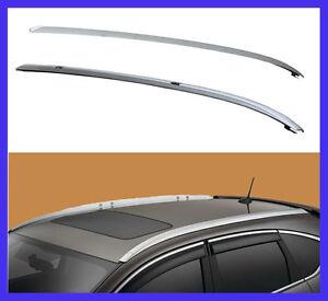 2012 2016 Honda Crv Roof Rack Side Rails Oe Style Bars Silver Mount Bolt