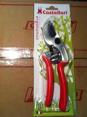 Forbice potatura CASTELLARI ERGONOMIC Taglio 30 mm forbice da pota made in Italy