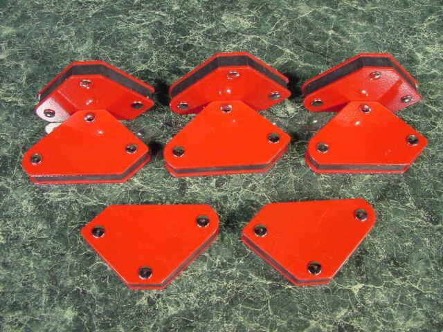 8pc. Mini ARROW MAGNETIC WELDING HOLDER weld clamp new