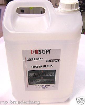 SGM Haze Fluid    5L.  Nebelfluid/Nebelflüssigkeit Top Qualität für Hazer