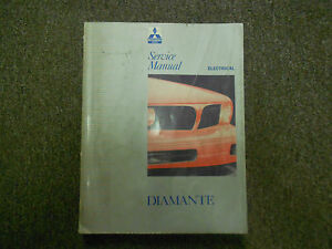 1992 1995 mitsubishi diamante service repair shop manual factory 92 rh ebay com 1992 Mitsubishi Diamante Mitsubishi Logo