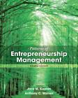 Patterns of Entrepreneurship Management by Jack M. Kaplan, Anthony C. Warren (Paperback, 2013)