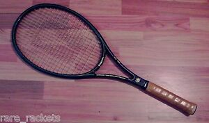 TWO BANCROFT KINGSTON 94 (1980'S PLAYERS RACKET BUNDLE) 4 1/2