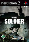 WWII: Soldier (Sony PlayStation 2, 2005, DVD-Box)