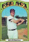 1972 Topps Rico Petrocelli Boston Red Sox #30 Baseball Card