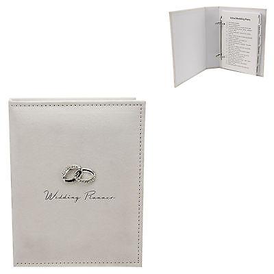 Intelligente Libro Wedding Planner-finitura Crema Suedette Idea Regalo Di Fidanzamento Nuovo 18269-mostra Il Titolo Originale Aroma Fragrante