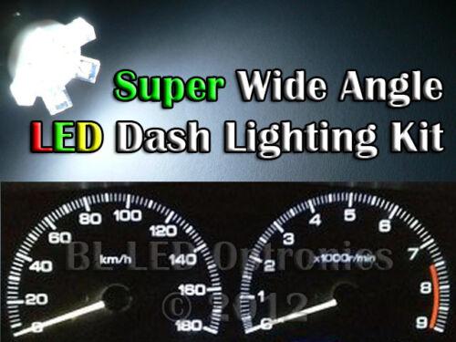 Dash LED Lights White Blue Red Green Pink UV suit Toyota Land Cruiser 80 Series