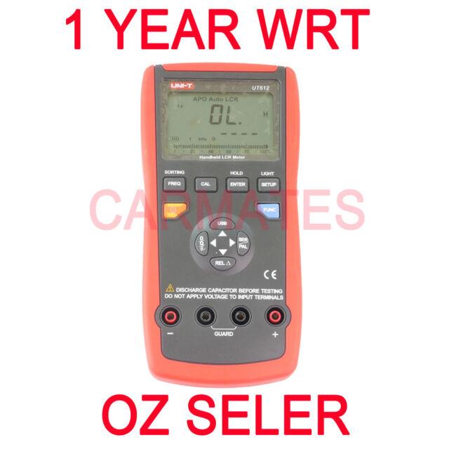 UNI-T Handheld LCR METER Multimeter UT612 Inductance, Capacitance, Resistance OZ