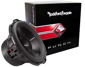 ROCKFORD-FOSGATE-P3D4-10-PUNCH-P3-SERIES-10-034-CAR-SUBWOOFER-DUAL-4-OHM-NEW