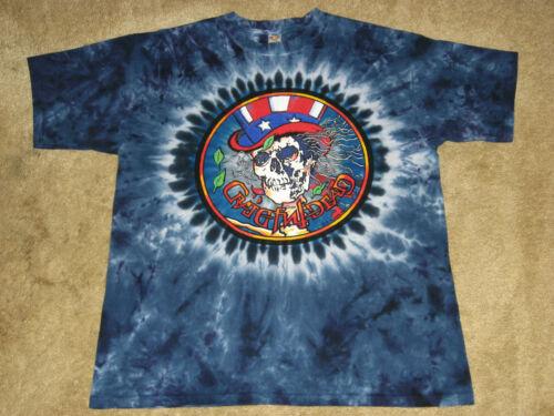 3XL L Grateful Dead Psycle Sam S 4XL Tie Dye T-Shirt 2XL M XL