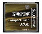 Kingston Ultimate 32 GB 600x - CompactFlash Card - (CF/32GB-U3)