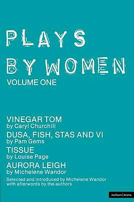 Plays by Women: Volume One (Plays By Women)-ExLibrary