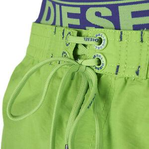 Diesel-Mens-Dolphin-Swim-Shorts-Green-Navy-Blue-Elastic-Waistband-Free-Post-Sale