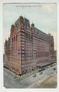 31895-1910-POSTCARD-WALDORF-ASTORIA-HOTEL-NEW-YORK-CITY-N-Y
