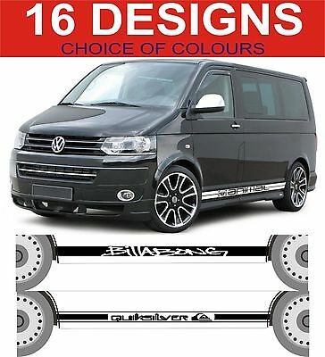 Volkswagen Transporter T4 Vw T4 Side Stripe Decals Vw C Surf Animal Ect Sticker Ebay