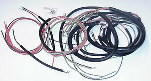 new harley fl flh complete wiring harness image is loading new 1958 1964 harley fl flh complete wiring