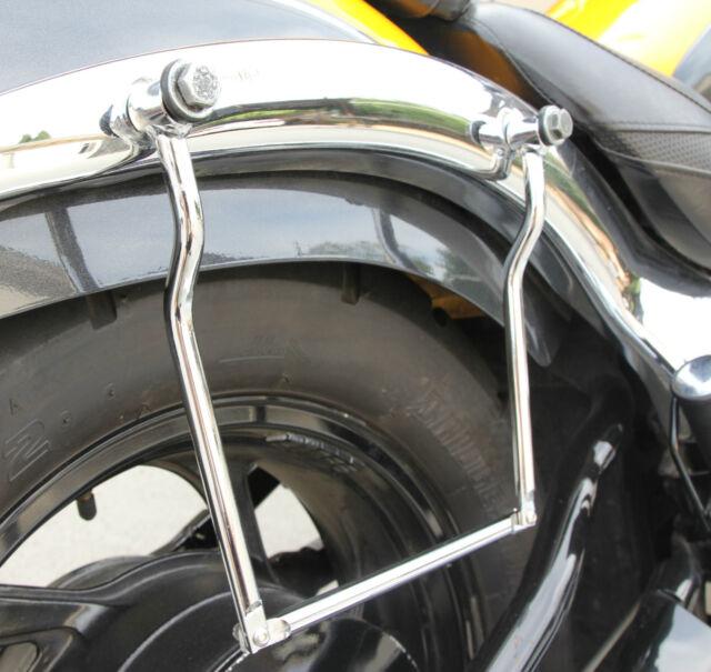 Saddle Guard Saddlebag Rail Yamaha Virago 250 535 750 1100 XJ XVS XVZ 1100 Maxim
