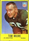 1967 Philadelphia Gum Tom Moore 93 Football Card