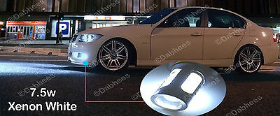 H11 XENON WHITE HIGH POWER 7.5W CANBUS LED CAR FOG LIGHT LED BULBS (pair)