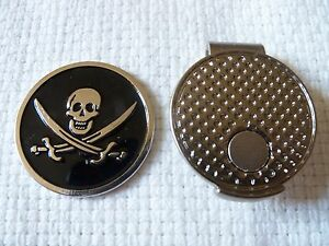 Premium-Skull-and-Swords-Golf-Ball-Marker-and-Magnetic-Hat-Clip