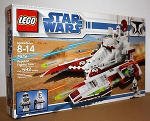 lego 7679 star wars republic fighter tank neu ovp 673419102711 ebay. Black Bedroom Furniture Sets. Home Design Ideas