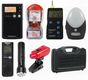NEW-Deluxe-Paranormal-Ghost-Hunting-Kit-Ghost-Spirit-Box-FREE-Batteries