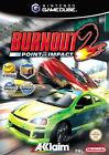 Burnout 2 - Point Of Impact (Nintendo GameCube, 2003, DVD-Box)