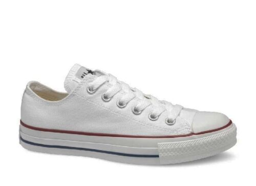Converse Chuck Taylor All Star Optical White Low Top Sneakers Size 3-15