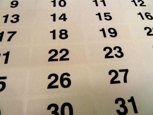 3 Farben 47x20mm IN Folge Fortlaufende Nummerierung Etikett Nummer Aufkleber