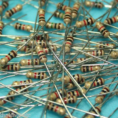 50 x Carbon Film Resistor 180K 180 K Ohm 1/4W 0.25W 5%