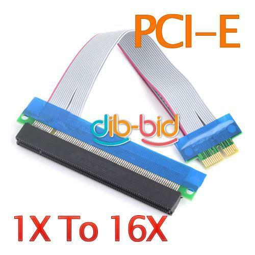 PCI-E Extension Cable 1X To 16X Riser Extender Card
