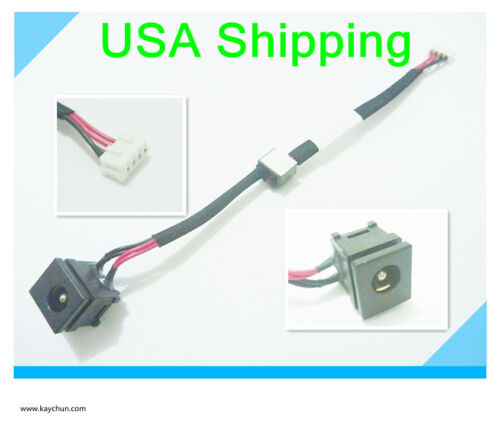 DC power jack in cable harness for TOSHIBA SATELLITE L305-S5902 L305-S5903